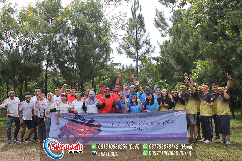 Outbound Training Team Building PT Astra Motor